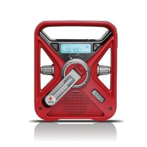 American Red Cross FRX3 Hand Turbine NOAA AM/FM Weather Alert Radio with Smartphone Charger