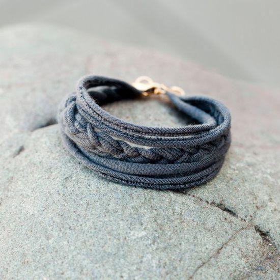 DIY T-Shirt Friendship Bracelet