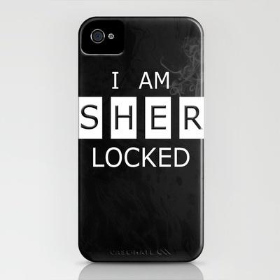 No. 1. I Am Sherlocked iPhone Case by F. C. Brooks - $35.00