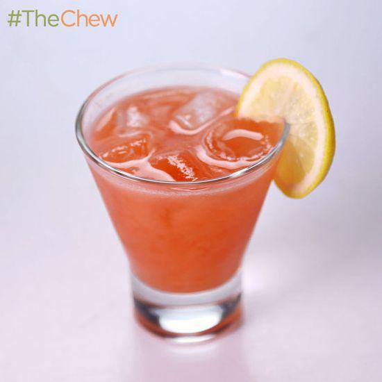 Clinton Kelly's Strawberry-Sage Lemonade! #TheChew
