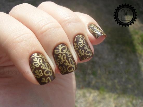 Nail art - Butterfly