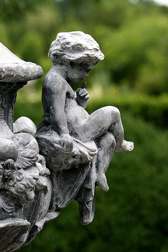 ~ stone cherub