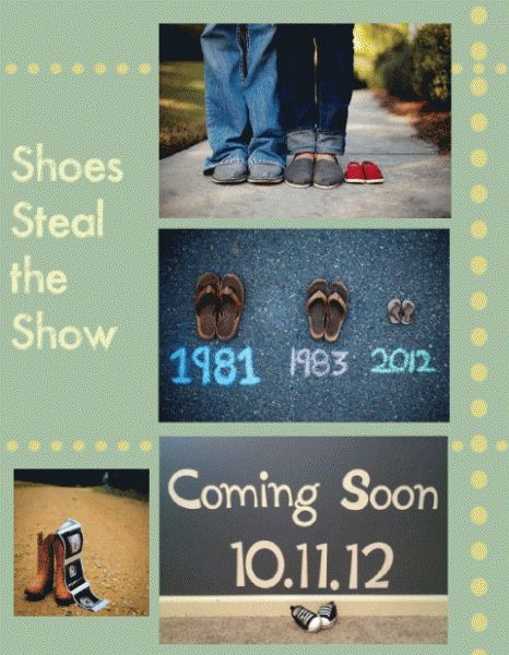 Baby Announcement Picture Ideas