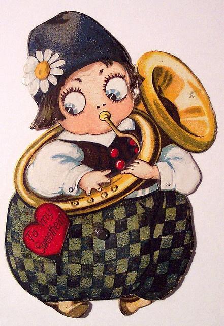 valentine #vintage