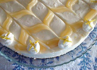 Lemon Curd Icebox Cheesecake
