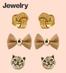 Gold Jewelry by #AmericanApparel  #jewelry #gold