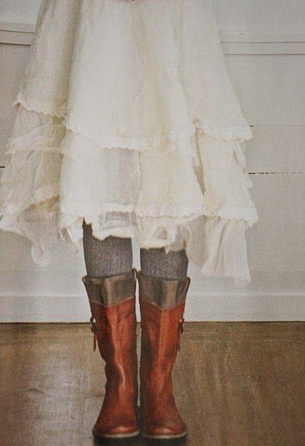 boots & ruffles
