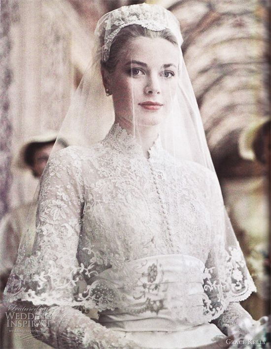 Kate Middleton's Wedding Dress — Inspired by Grace Kelly Part 1
