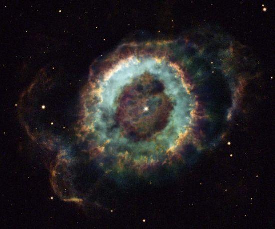 The Little Ghost Nebula.
