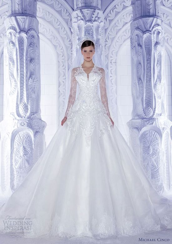 michael cinco spring 2013 couture wedding dress