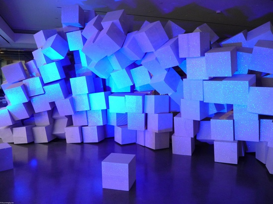 Art Installation at The Creators Project Launch in New York.