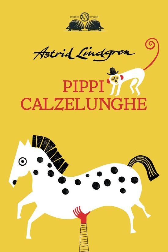 Liuna Virardi. Pippi Calzelunghe  Salani cover book