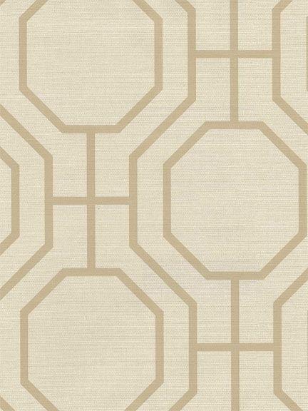 More geometric temporary wallpaper.
