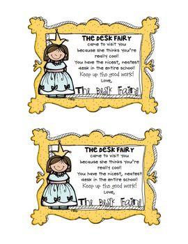 desk fairy awards {FrEe}  :)