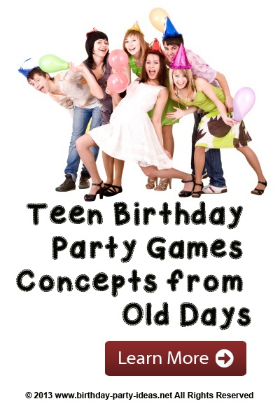 Teen Birthday Party