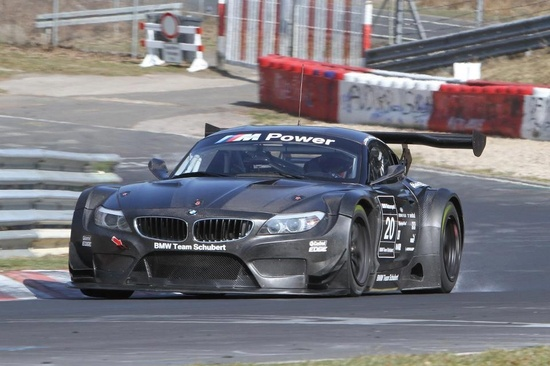 BMW Z4 GT3 racecar