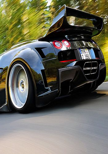 Bugatti - smokin' hot photo