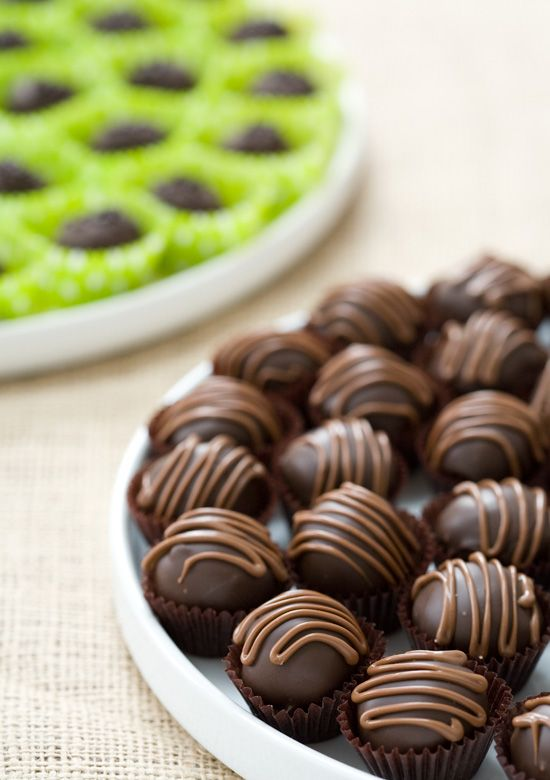 Chocolate Cookie Dough Truffles