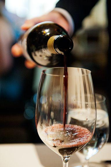 Always enjoy a good glass of wine