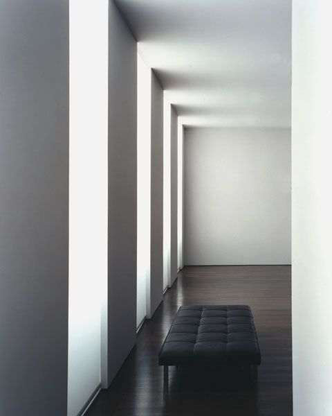 Deborah Berke Partners, architects & interiors Mercer Street Loft No. 1. Pattern of light and shadow in The New York Apartment created for an Art Director and his family. 2001 Interior Architecture Award winner from the New York Chapter of the American Institute of Architects.