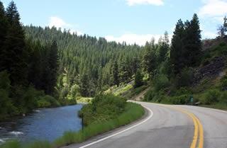 Ponderosa Pine Scenic Byway, Highway 21