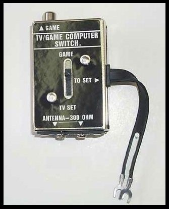 tv/game computer switch