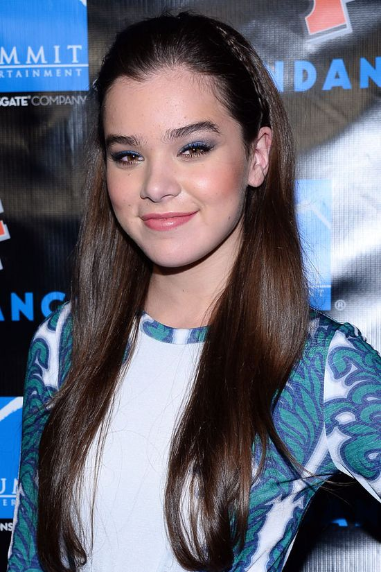 17 Celebrity-Approved Hairstyles for the First Day of School: Hailee Steinfeld's Braided Headband