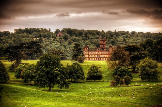 Highclere Castle, Hampshire, UK