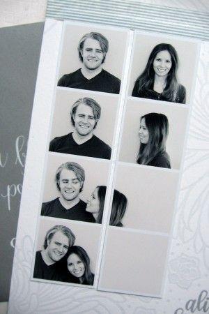sweet twist on the photobooth idea