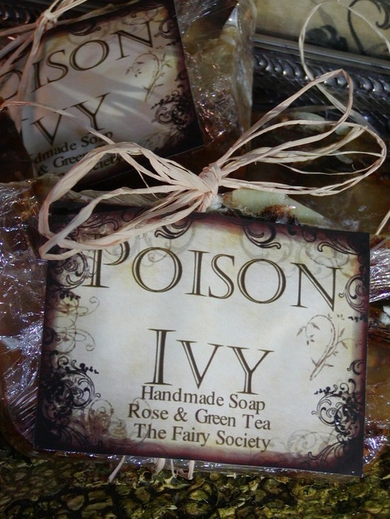 Poison Ivy Handmade soaps