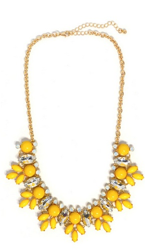 #necklace #jewelry #Yellow