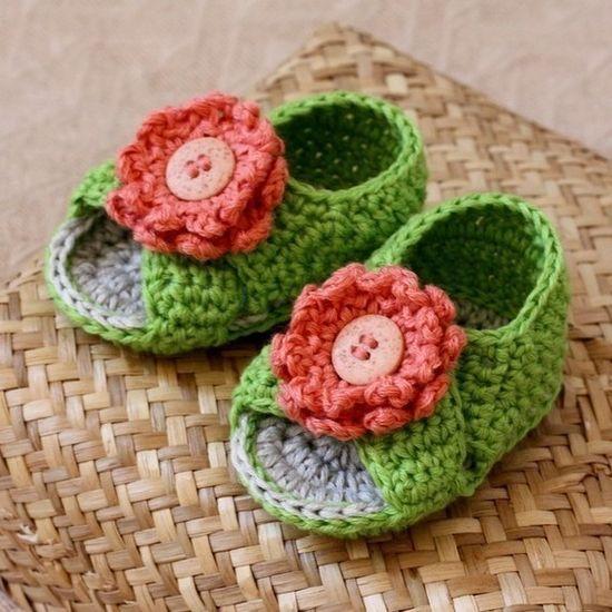 Cross Strap Baby Sandals