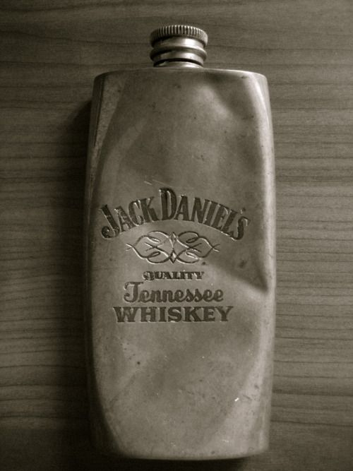 Vintage Jack Daniel's Flask