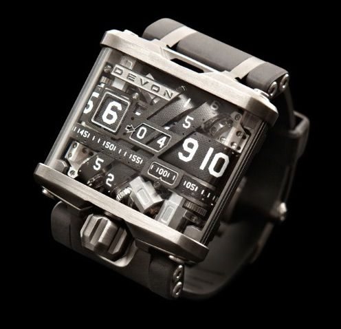 Steampunk-Inspired Watch Charges Its Battery Wirelessly $17,500.00