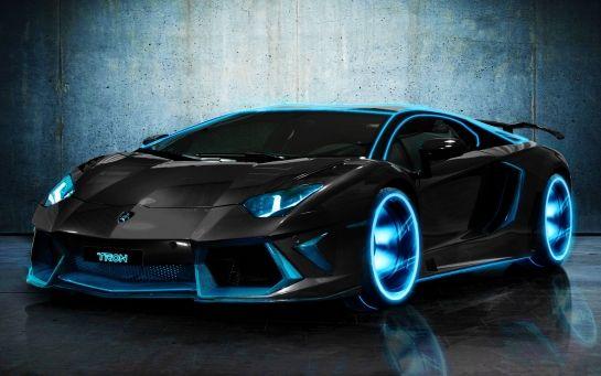 Tron Car - Lamborghini