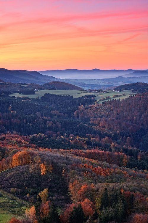 Milseburg, Rhön Mountains, Hesse, Germany