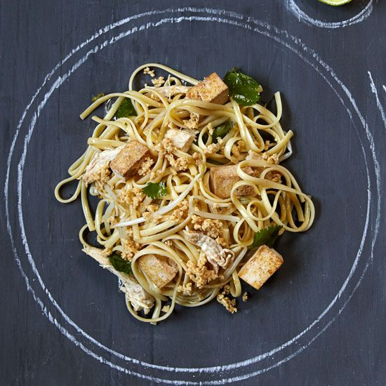 Chicken Pad Thai // More Terrific Fast Pastas: www.foodandwine.c... #foodandwine