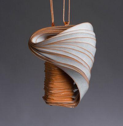Lydia Hirte Jewellery Sculptures Paper Art