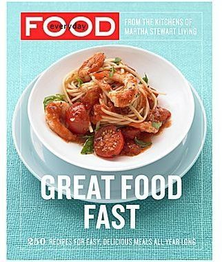Great Food Fast Cookbook jcpenney