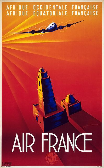 Air France Travel Poster