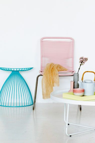 pastel in home
