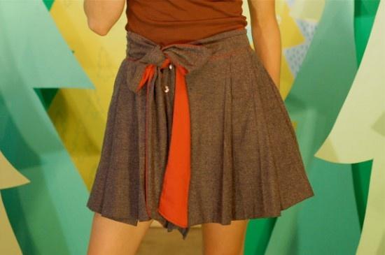 handmade skirt from sew moe. super cute!