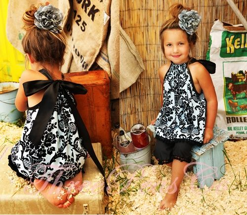 Love this version of a pillowcase dress!!