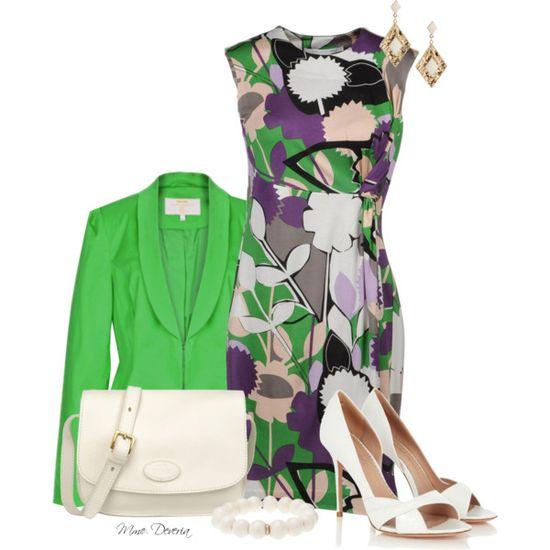 Diane Von Furstenberg short dress by madamedeveria on Polyvore