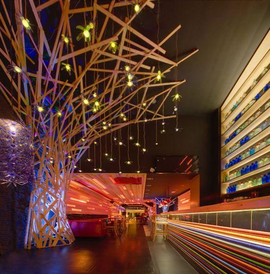 Bar Fuuud Restaurant interior designs in Sabadell