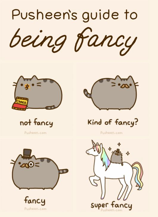 Unicorns make anything super fancy!