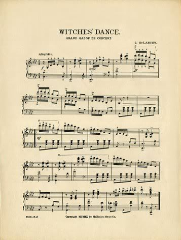 Witches' Dance (free printable)