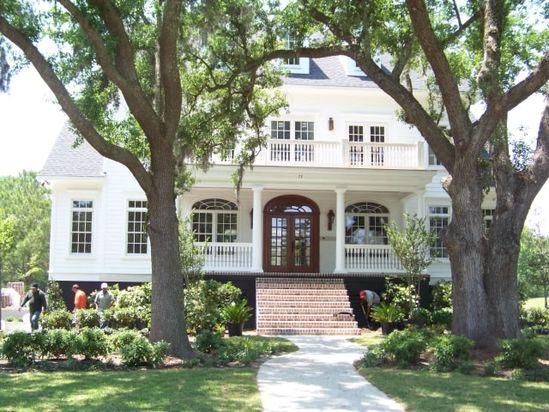 beautiful home outside of Charleston, SC