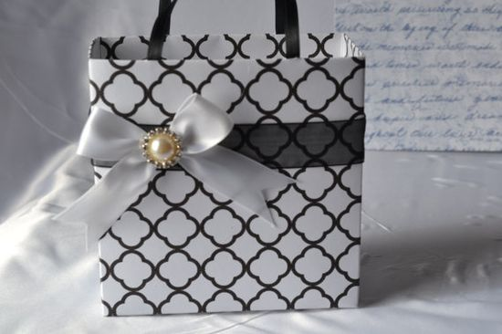 Unique handmade gift bag great for bridal party by steppnout, $3.50