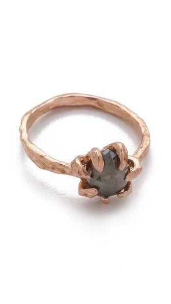 Lauren Wolf Jewelry Rose Cut Diamond Ring